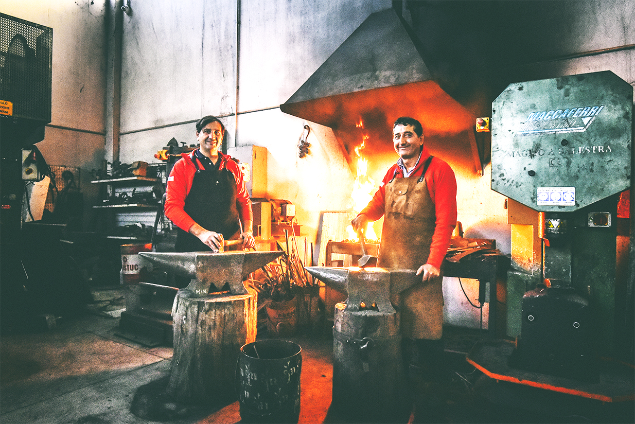 Lavorazioni in ferro battuto - Pozzolo Formigaro